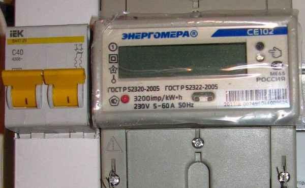 Как производится расчёт вводных автоматов