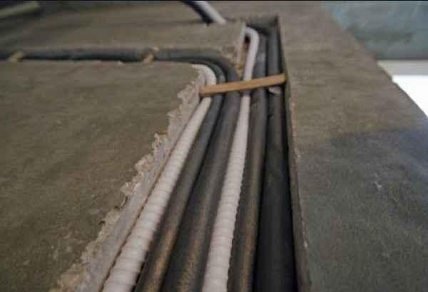 Устройство штроб под электропроводку