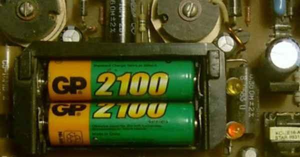 Зарядное устройство для пальчиковых батареек