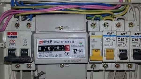Подключение счетчика электроэнергии