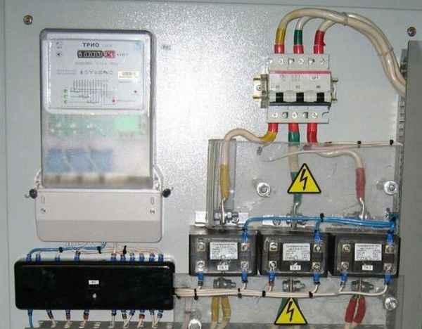 Правила подключения электросчетчика