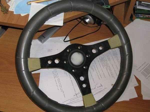 Как сделать руль для ПК своими руками - принципиальная схема