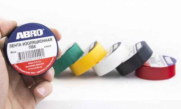 Что расскажет электрику цвет изоленты
