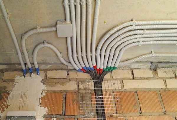 Неправильная схема электропроводки или её отсутствие