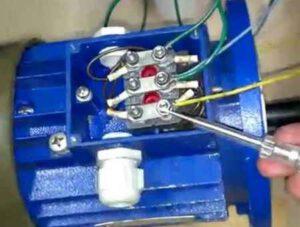Хитрости подключения трехфазного двигателя к сети 220 и 380 В